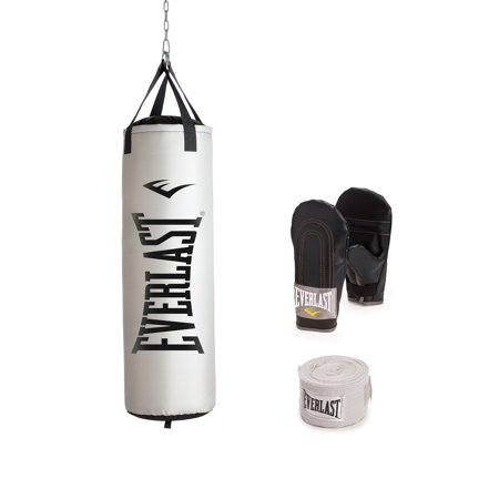 Everlast 100 Lb Nevatear Heavy Bag Kit