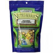 Lafeber Company Lafeber Gourmet Nutri-Berries with Popcorn - Parakeet, Cockatiel and Conure Treat 4 Ounce