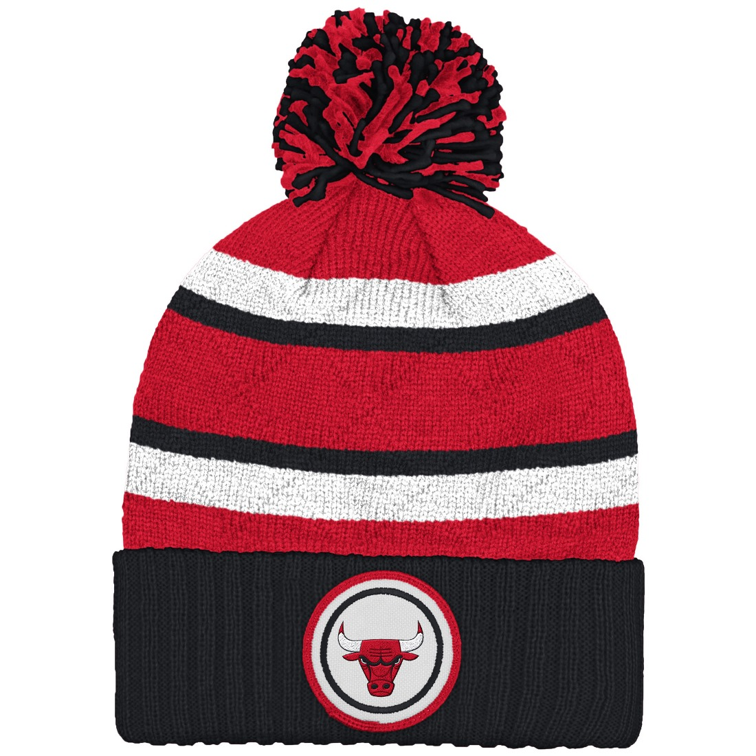 Mitchell And Ness Nba Current Quilt Stripe Crown Knit Hat ( KS49Z ) by Mitchell & Ness