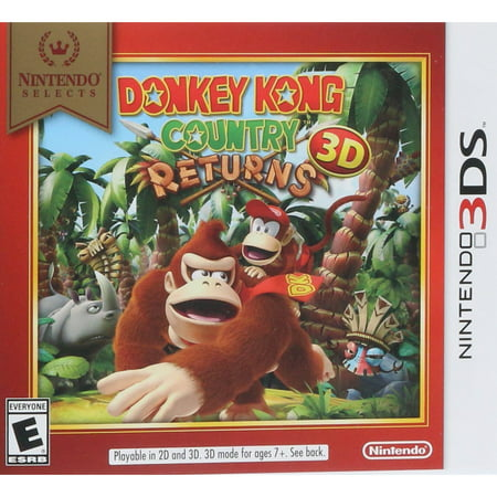 Donkey Kong Country Returns 3D, Nintendo, Nintendo 3DS, [Digital Download],