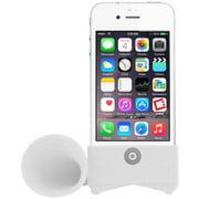 White Amplifying Speaker for Apple iPhone 4/4s