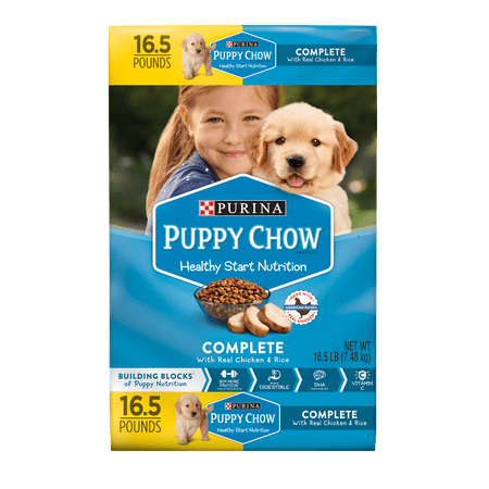 Purina Puppy Chow Complete With Real Chicken Dry Puppy Food - 16.5 lb.