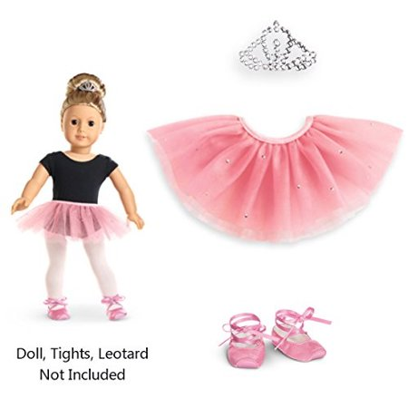 American Girl - Pretty Pink Tutu Set for Dolls - Truly Me 2015 - Me Doll