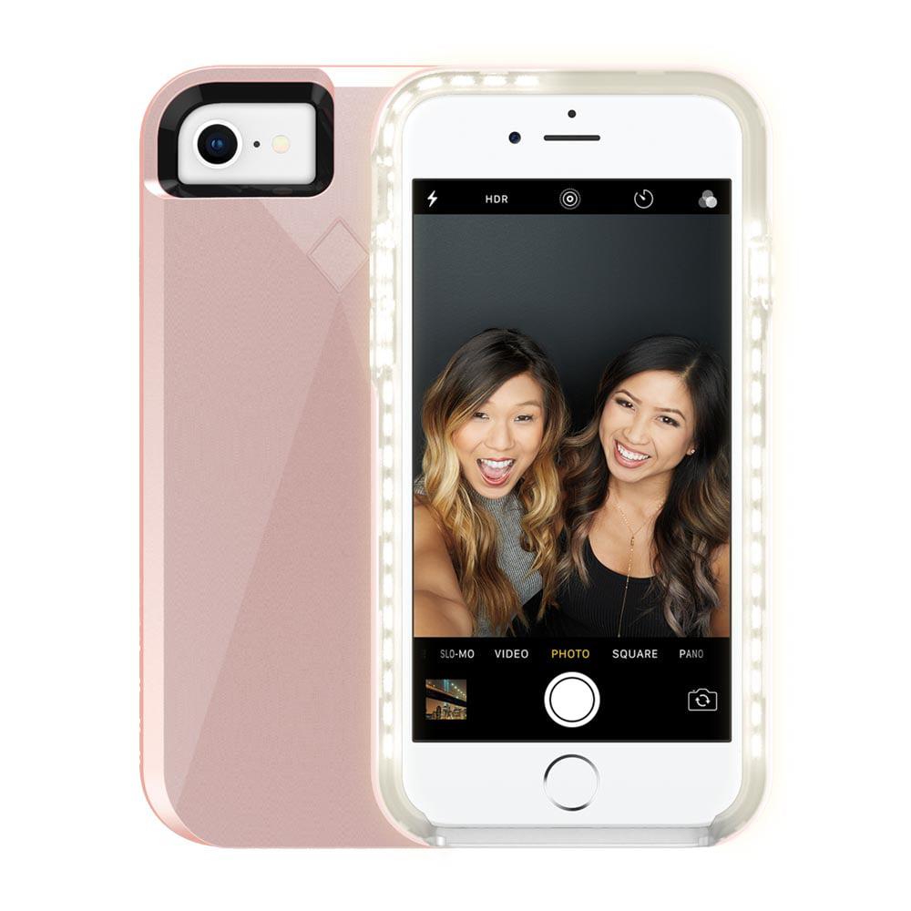 Incipio LUX Brite for iPhone 8, iPhone 7 & iPhone 6s - Rose