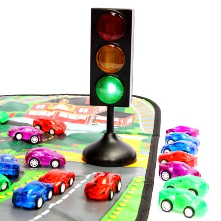 Toy Traffic Light (Dazzling Toys Racer Cars and Traffic Set - 7
