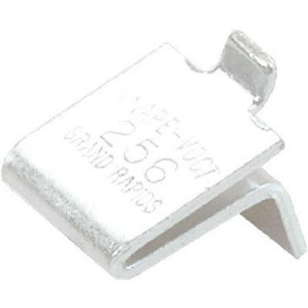 256BR Brass Shelf Support Clip, Pack Of 100 ()