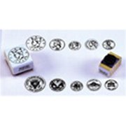 CENTER ENTERPRISES CE-103 STAMP SET COINS HEADS-5/PK