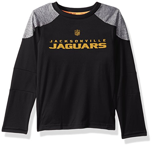 X-Small 0-1 Outerstuff NFL Oakland Raiders Juniors Lay-Up Raglan Long Sleeve Top Black