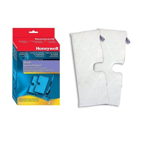 Shark Steam Pocket XT3601 Replacement Premium Micro-Fiber Two Sided Steam Mop Pads, 2pk. Also Fits S3500, S3601, S3901.