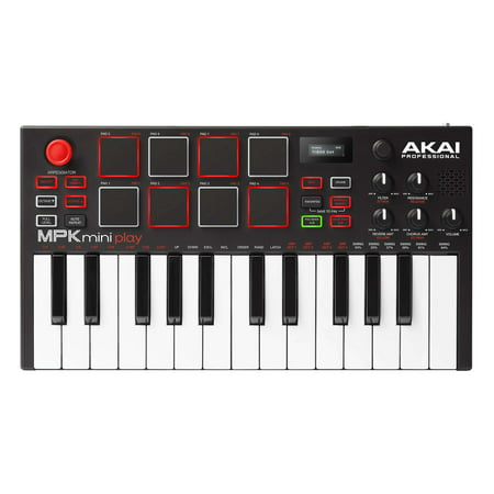 AKAI Professional MPK Mini Play MIDI Keyboard Controller with Built-in