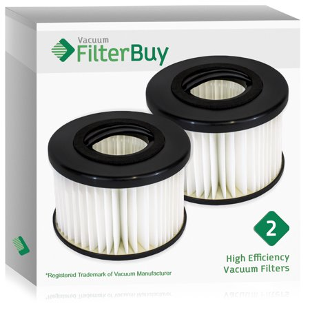 Eureka Boss Smart Vac Parts - 2 - FilterBuy Eureka DCF20 (DCF-20) Replacement Filters.  Replaces Eureka Part # 3041 65318A, 79902.  Designed to be Compatible with Eureka Enviro Vac Upright Vacuum Cleaner.