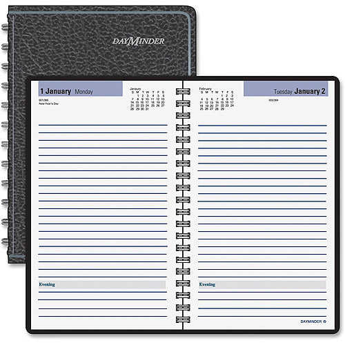 At-A-Glance DayMinder No Appointment Times Daily Planner