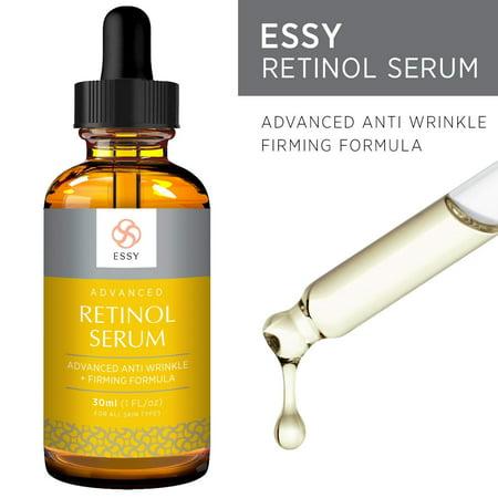 Essy Retinol Serum with Advanced Anti Aging, Anti Wrinkle and Firming Formula (30