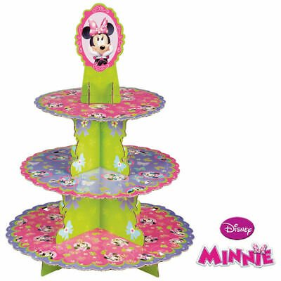 Minnie Mouse Cupcake Treat Stand - Holds 24 Cupcakes - 1512-6363 - National Cake Supply