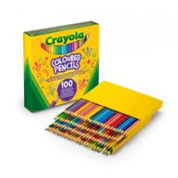 Crayola Classic Bulk-Size Colored Pencils, 100 Count