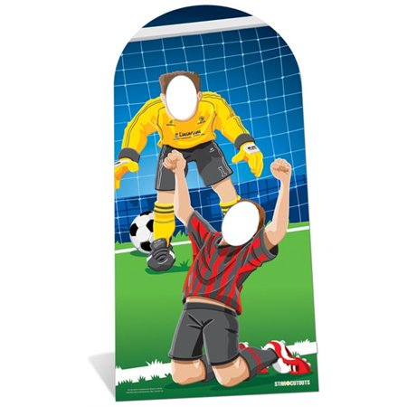 SC708 Adult Football (Soccer) Stand-In Cardboard Cutout Standup