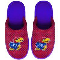 Kansas Jayhawks Women's Big Logo Scuff Slippers