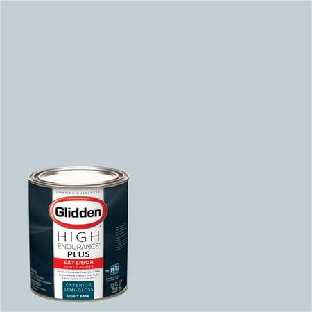 Glidden High Endurance Plus, Exterior Paint, Fostoria Glass Blue, # 90BG 63/043