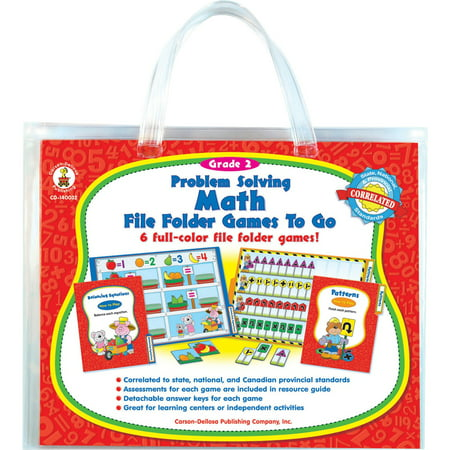 Carson-Dellosa, CDP140032, Problem Solving Math Game, 1 Each, Multi