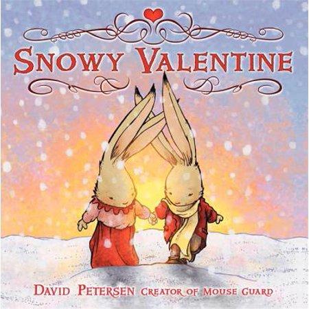 Snowy Valentine](Valentine's Day Crafts For Preschoolers)