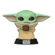 Funko POP! Star Wars: The Mandalorian - The Child w/cup
