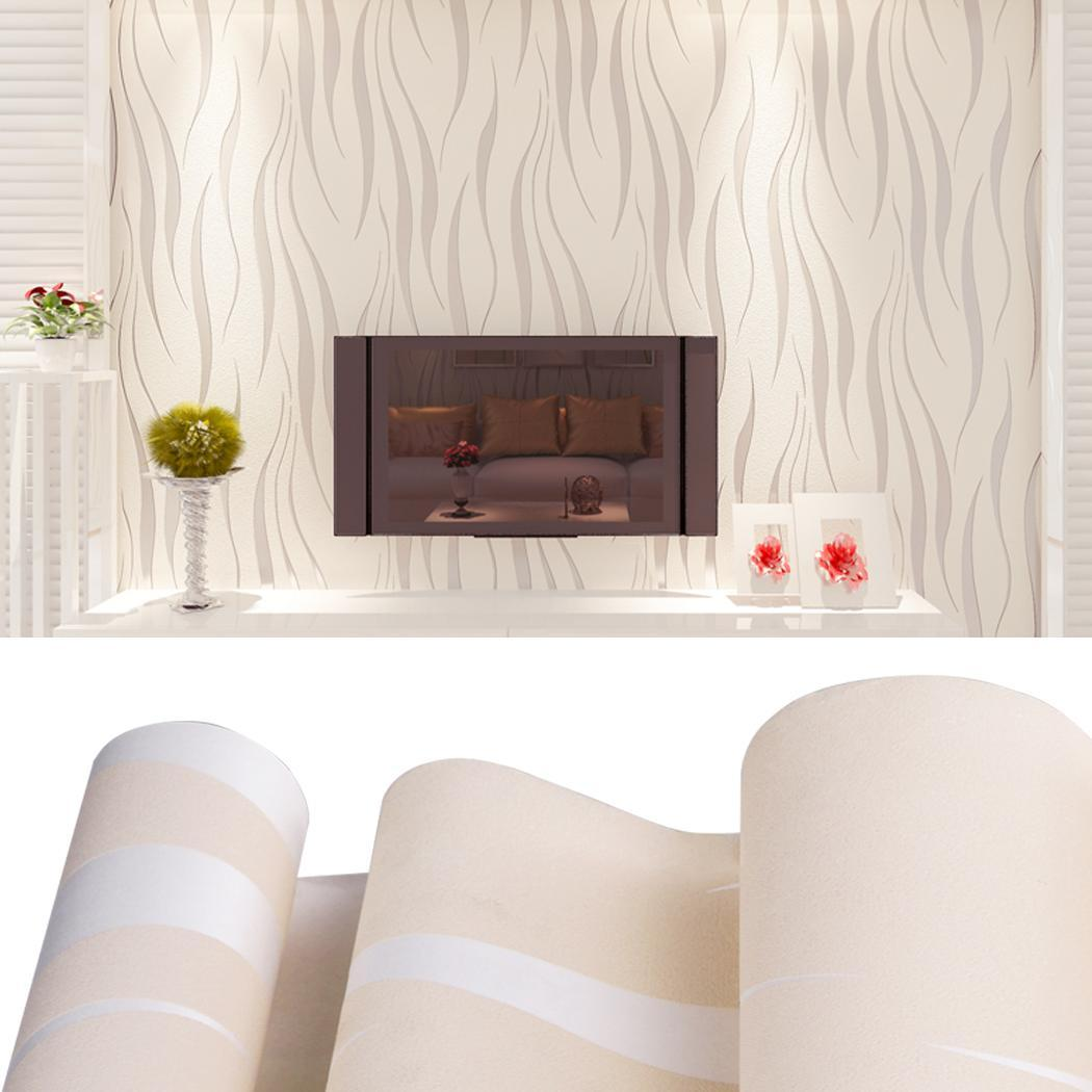 Home Improvement Non-Woven 3D Home Decor Wallpaper for Living room, Bedroom, Kitchen and Bathroom