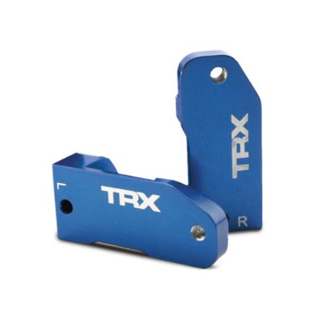 Traxxas 3632A Aluminum Caster Blocks Anodized - Blue Multi-Colored (Traxxas Aluminum Caster Blocks)