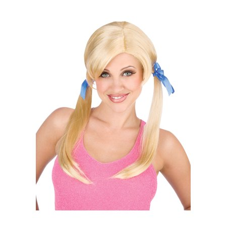 Cheap Date Brown Wig Adult Halloween Accessory
