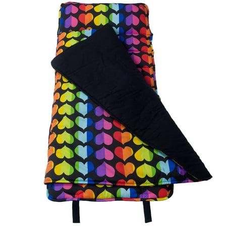Wildkin Rainbow Hearts Original Nap Mat