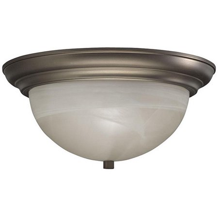 Ghp 13 W X 6 5 H Cashmere Alabaster Gl Flush Ceiling Lighting Fixtures