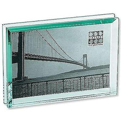 Block Picture Frames Clarity Glass Block Frame By Milano Series