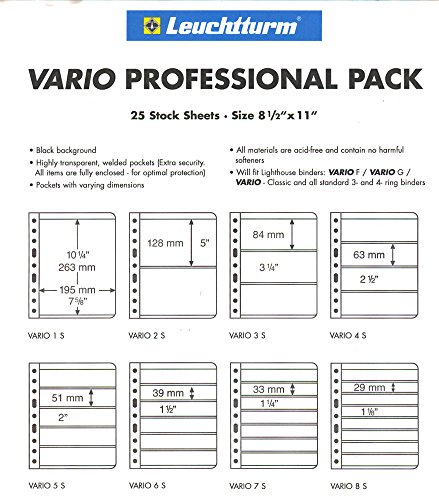 Professional Pack /… 25 Lighthouse VARIO 4S pages