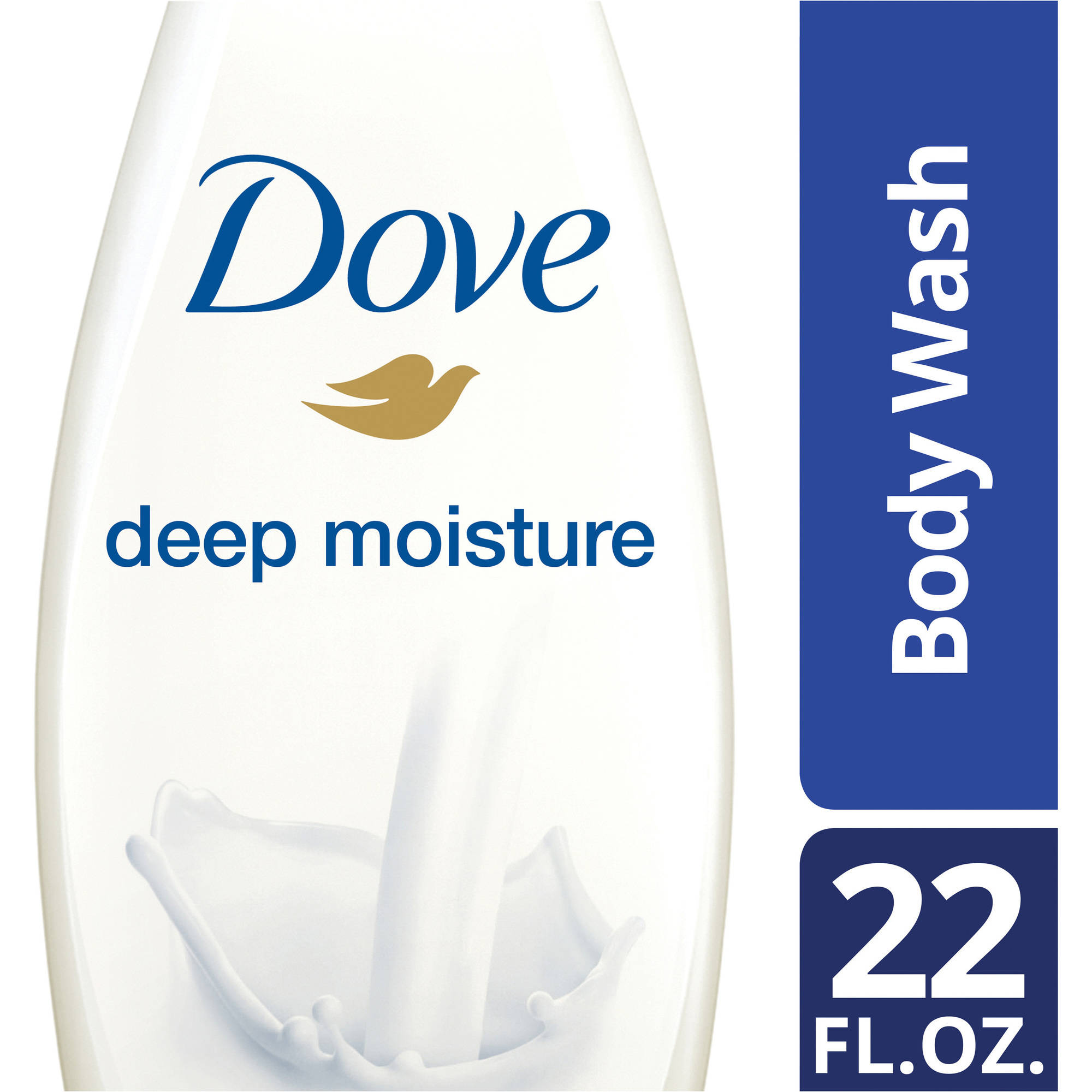 Dove Deep Moisture Body Wash, 22 oz - Walmart.com