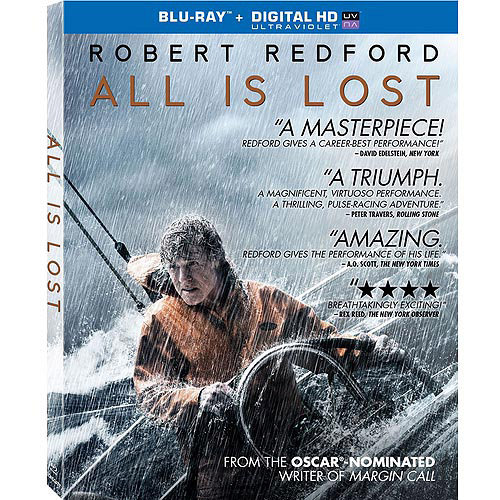 All Is Lost (Blu-ray   Digital HD) (With INSTAWATCH) (Widescreen)