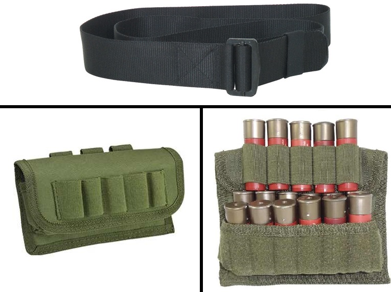 Ultimate Arms Gear 2 Pack Of Tactical OD Olive Drab Green 17 Shot Shell Ammunition Ammo Reload Carrier Pouch MOLLE, PALS... by