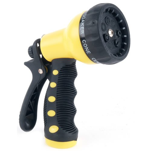 Rugg W8417p 7-Position Dial Grip Nozzle (Yellow)