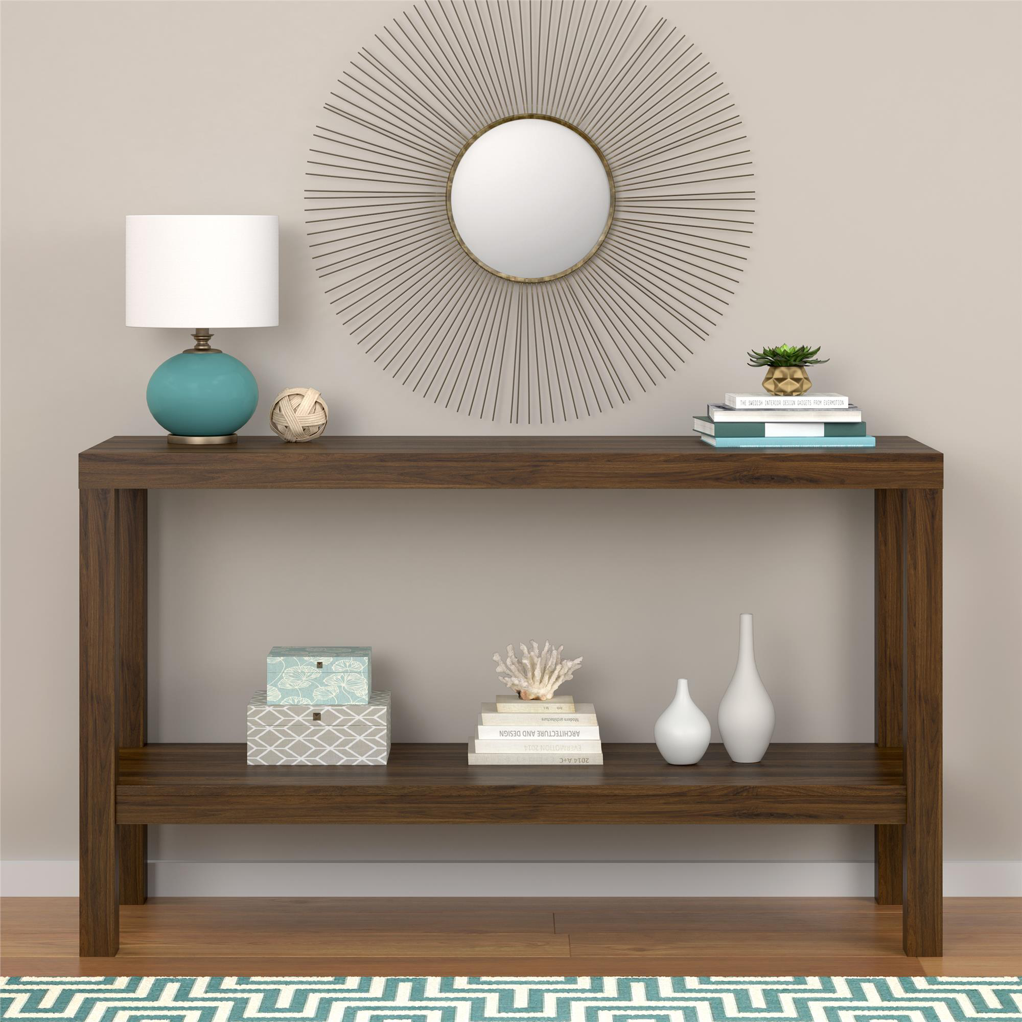 Mainstays Parsons Console Table Canyon