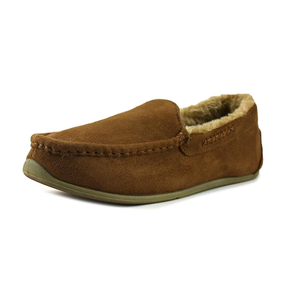 Deer Stags Birch Moc Toe Synthetic Slipper by Deer Stags
