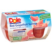 Dole® Red Grapefruit Sunrise in a Blend of 100% Fruit Juices 4-4 oz. Cups
