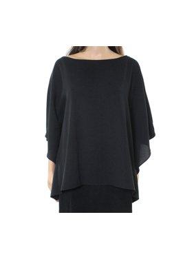 59aa1c1826 Product Image Lauren by Ralph Lauren NEW Black Womens Size Large L Slim  Drape Blouse