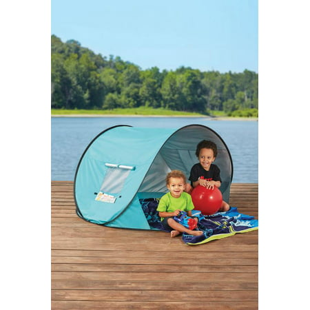 wholesale dealer 21c9e e0a57 Mainstays Pop Up Tent Canopy With UPF 30+ Sun Protection, Available In  Multiple Colors