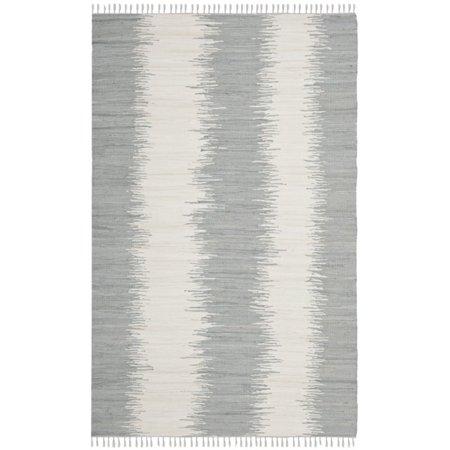 "Safavieh Montauk 2'3"" X 11'7"" Hand Woven Cotton Pile Rug in Gray - image 1 de 1"