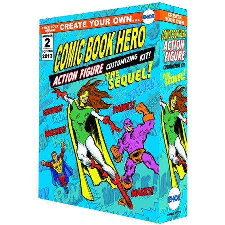 Spherewerx Create Your Own Comic Book Hero Sequel Action Figure Kit