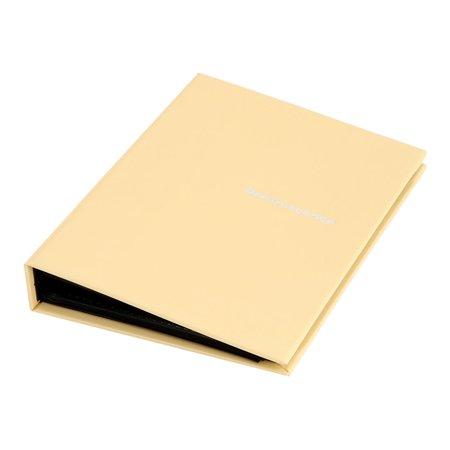 Home Family Retangular Shaped Post Collections Holder Photo Album Light Yellow
