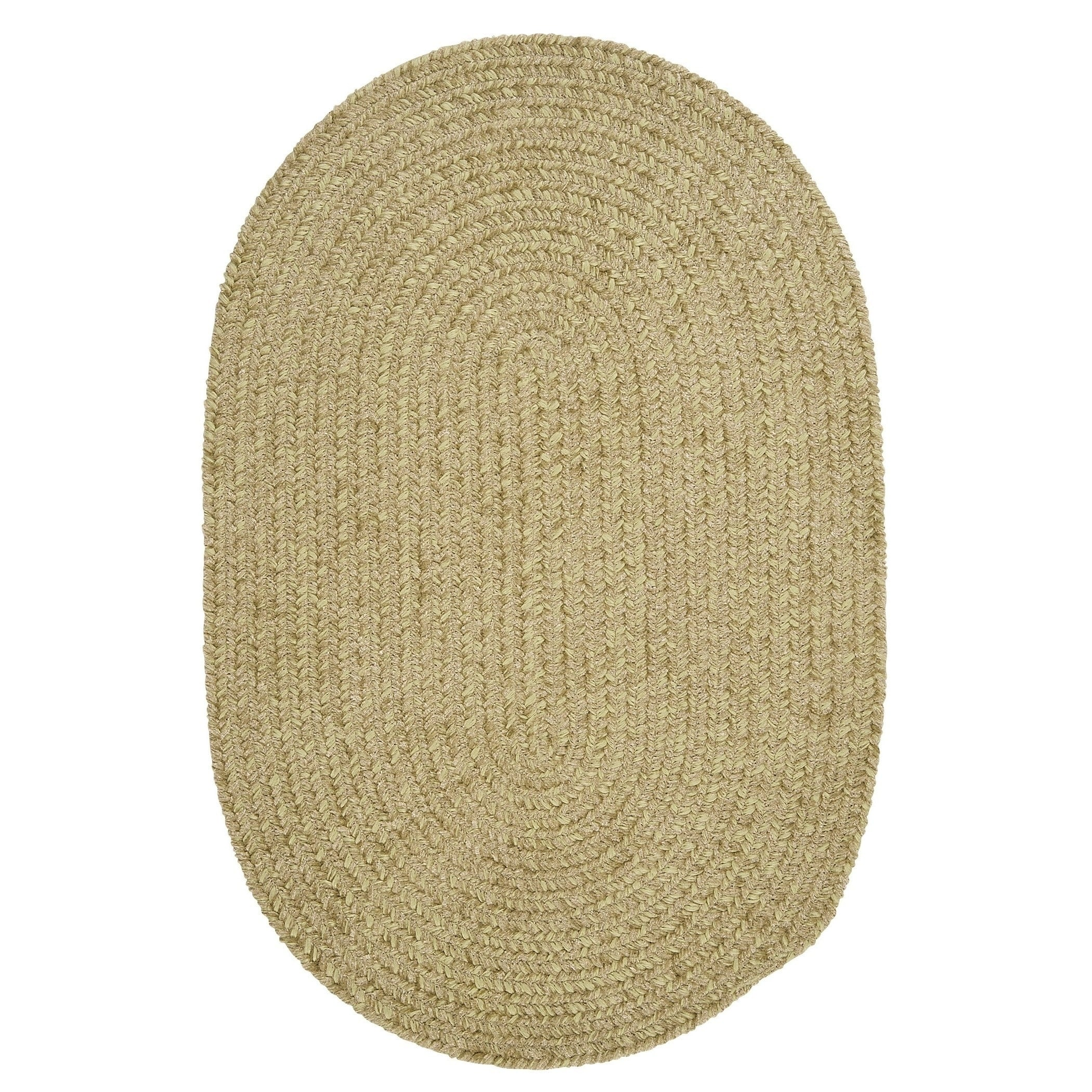 Colonial Mills Soft Chenille Braided Reversible Rug USA MADE - 5' x 7'