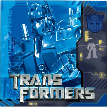 Transformers Lunch Napkins 16ct By Factory Card and Party Outlet](Party And Card Outlet)