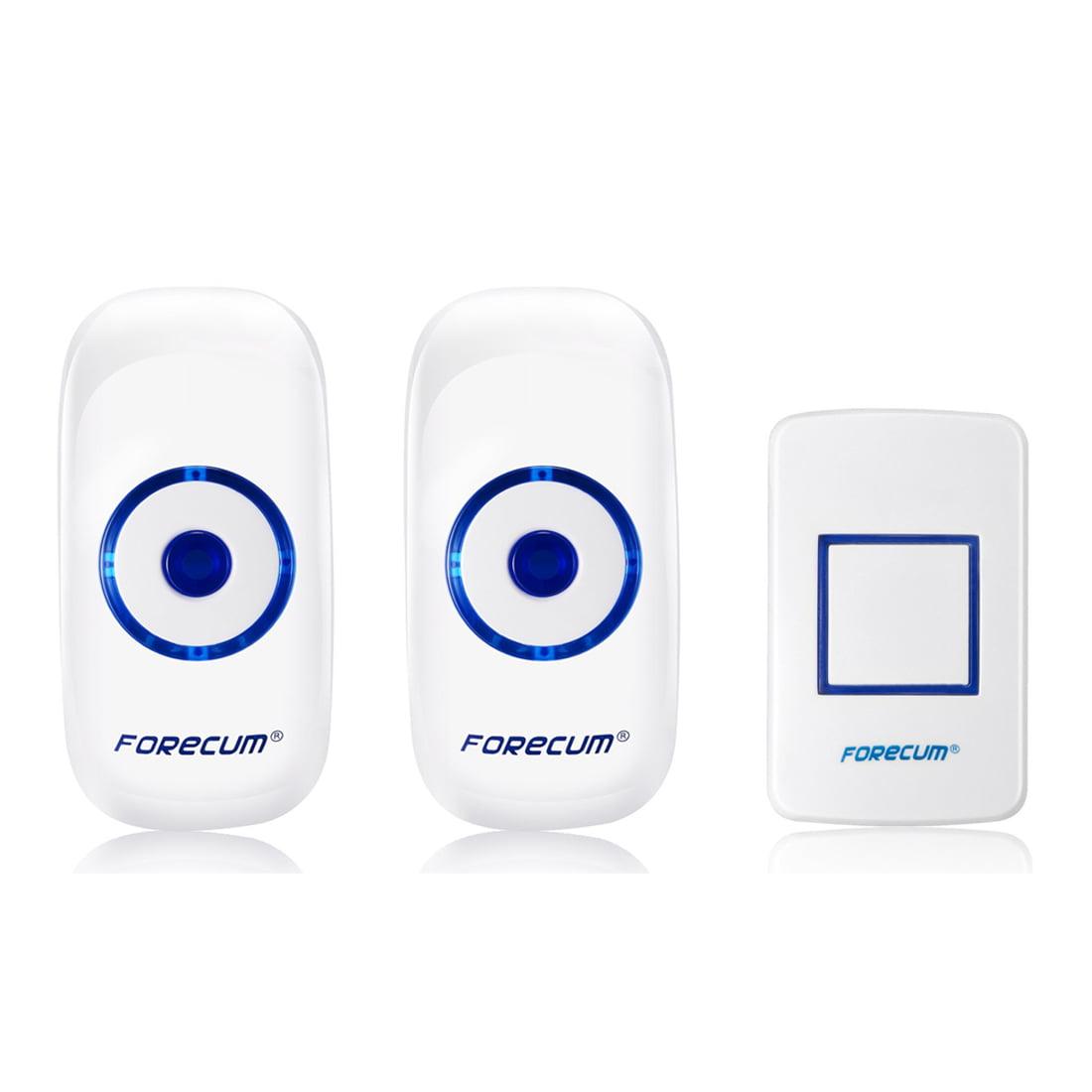 Wireless Doorbell Door Chime Remote Control Plug In Receiver 36 Songs 150M  Range   Walmart.com
