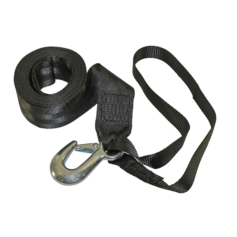 """Fulton 501208 Winch Strap W/Hook&Loop 2""""X12'"""
