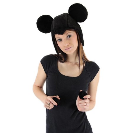 Disney Mickey Mouse Costume Laplander Hat Adult One Size](Mickey And Friends Happy Halloween)