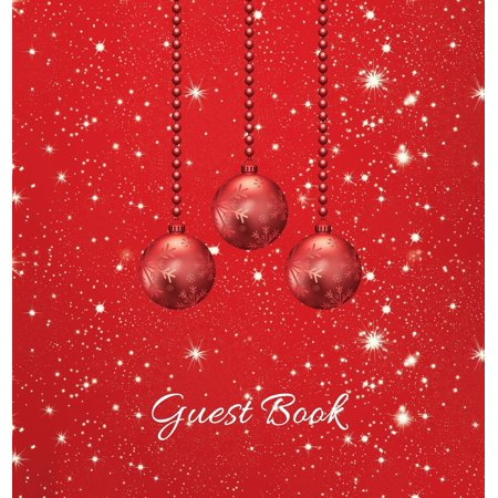 Christmas Party Guest Book (HARDCOVER), Party Guest Book, Birthday Guest Comments Book, House Guest Book, Seasonal Party Guest Book, Special Events & Functions: For parties, Christmas events, birthday ()